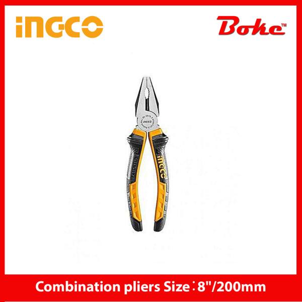 INGCO I-HCP08208 Combination pliers Size:8/200mm