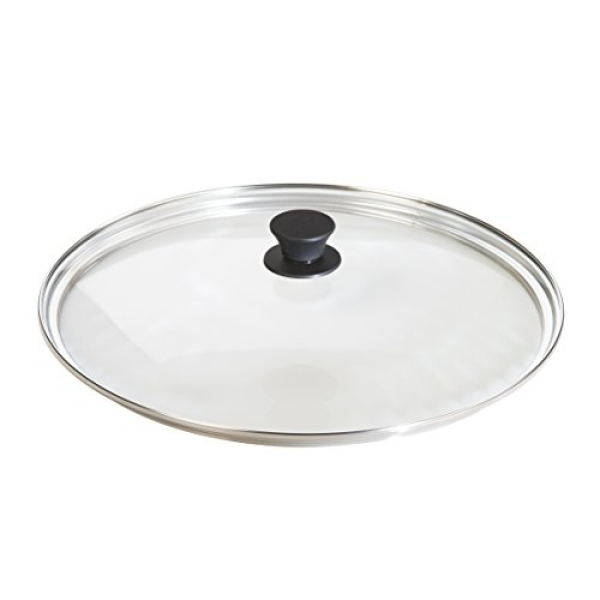 Lodge Tempered Glass Lid (15 Inch) – Fits Lodge 15 Inch Cast Iron Skillets and 14 Inch Cast Iron Woks Singapore