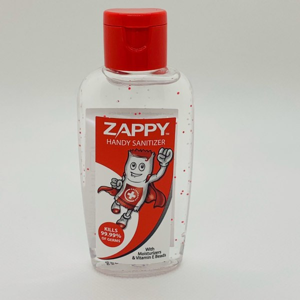 Buy Zappy Hand Sanitizer 60ml x 3 (With Moisturizers and Vitamin E beads) *Made in Singapore* Singapore