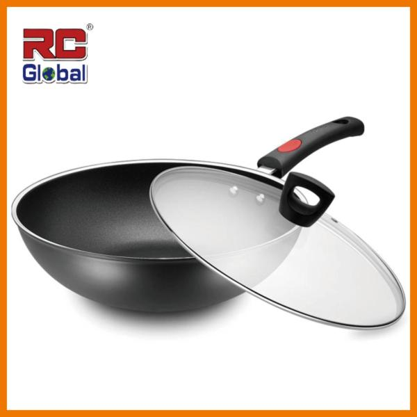 RC-Global ASD Premium quality  30 cm Frying Wok / Non-stick Wok / Non-smoke Wok / Induction Wok / Kitchen Wok (ASD 炒锅不黏锅无油烟锅电磁锅) Singapore