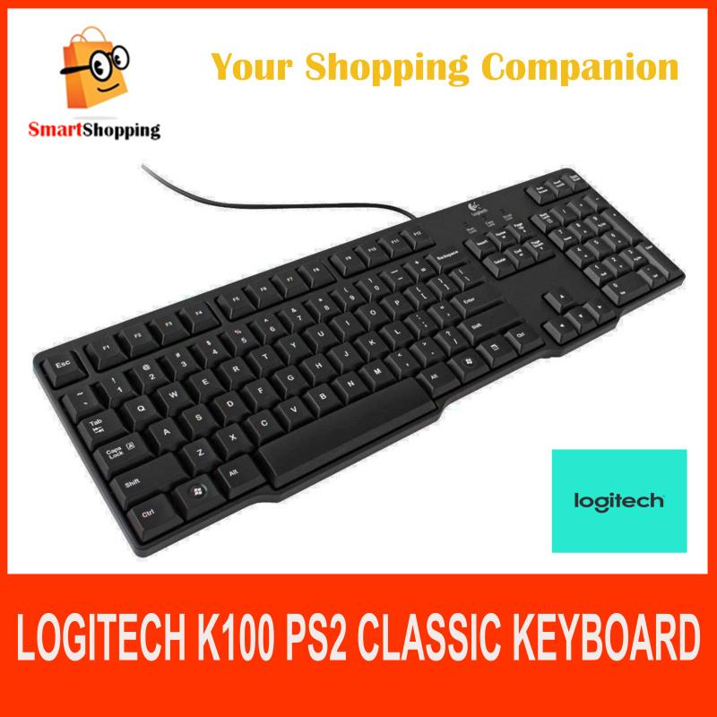 Logitech  K100 920-002145 PS/2 - Classic Black  Keyboard Singapore