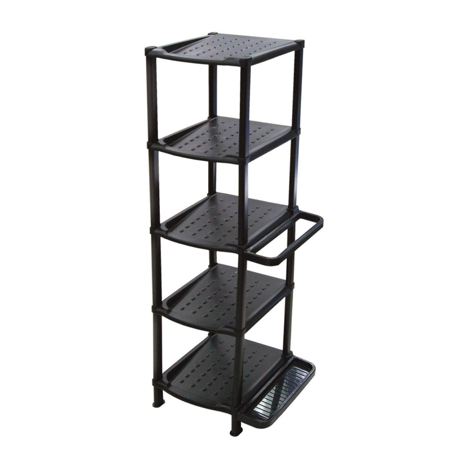 ALGO Multi Shoe Rack 5 Tier W/ Umbrella Holder