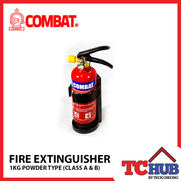 Combat Powder Fire Extinguisher 1KG (For Class A/B)