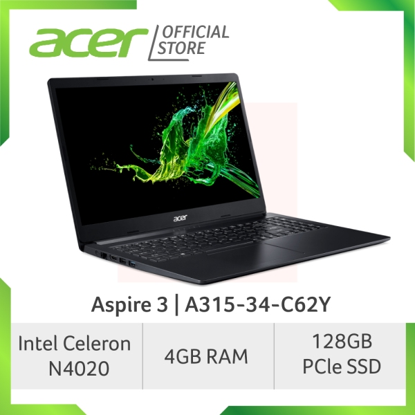 [LATEST] Acer Aspire 3 A315-34-C62Y 15.6 Inch FHD Laptop with 128GB SSD