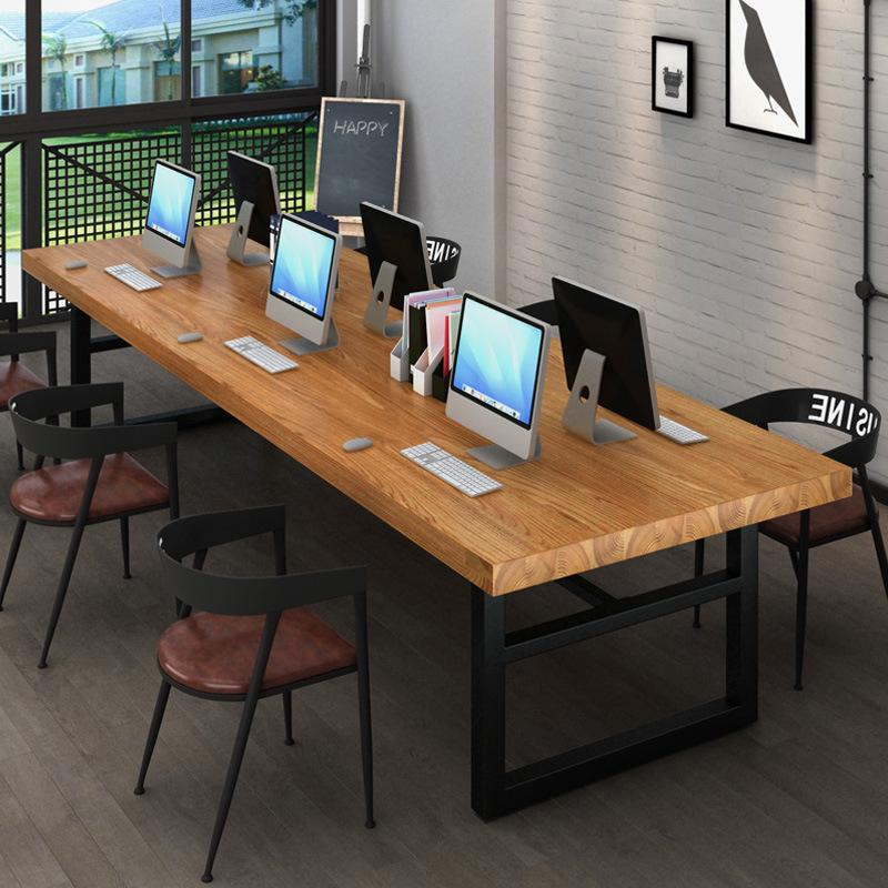 Iron Art Dining Chair Coffee Bar Restaurant Internet Cafe Household Backrest Soft Chair Office Computer Chair