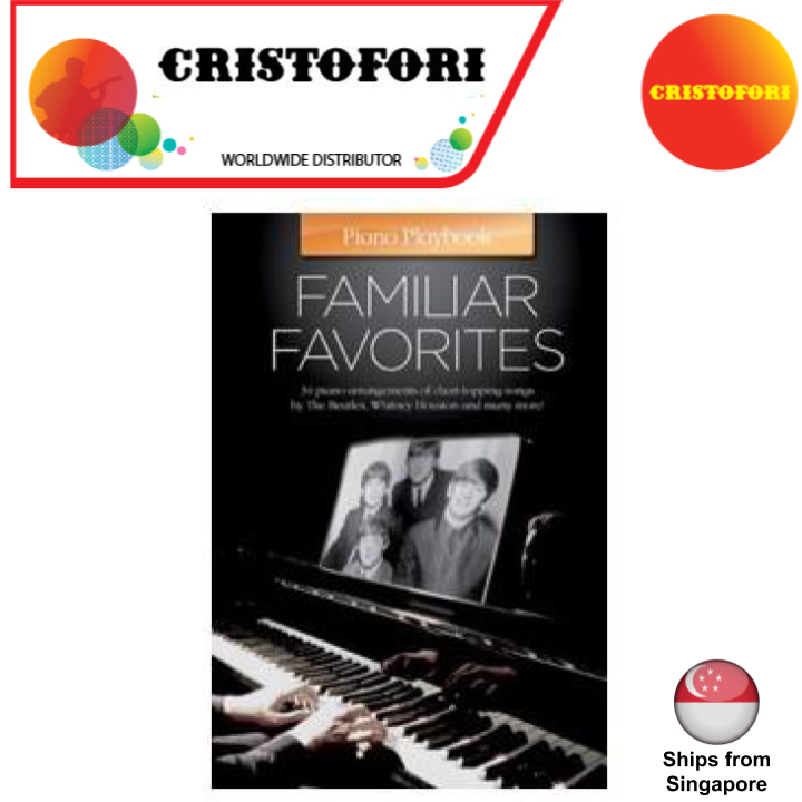 Piano Play Book - Familiar Favorites / Favourites