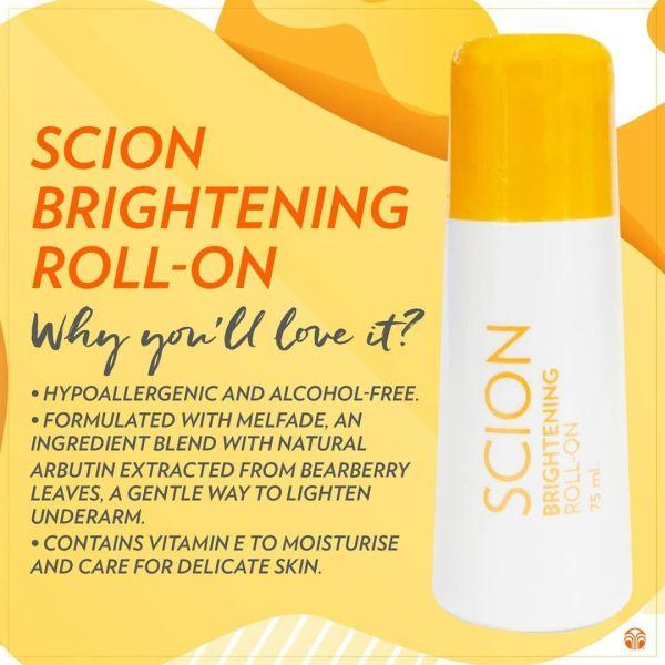 Buy Nuskin Scion Whitening Roll On Singapore