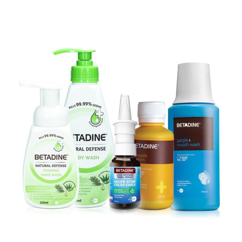Buy Betadine Home Kit (Tea Tree Variant) Singapore