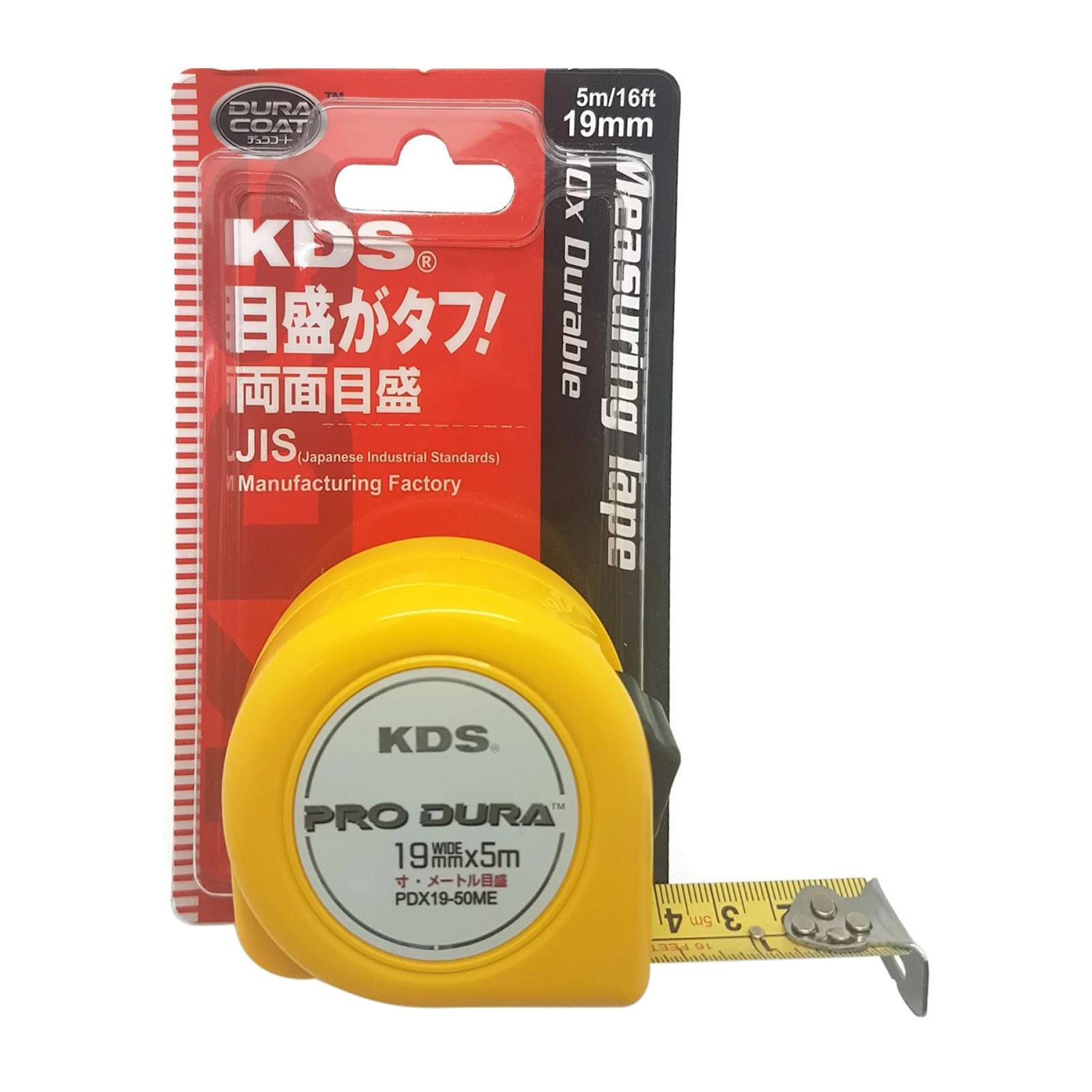 KDS Pro Dura Double Sided Measuring Tape 5M 19MM Wide