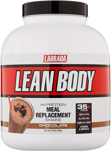 Buy Labrada Lean Body Hi-Protein Meal Replacement Shake Chocolate 4.63 Lbs FREE Shipping by Running Man Singapore