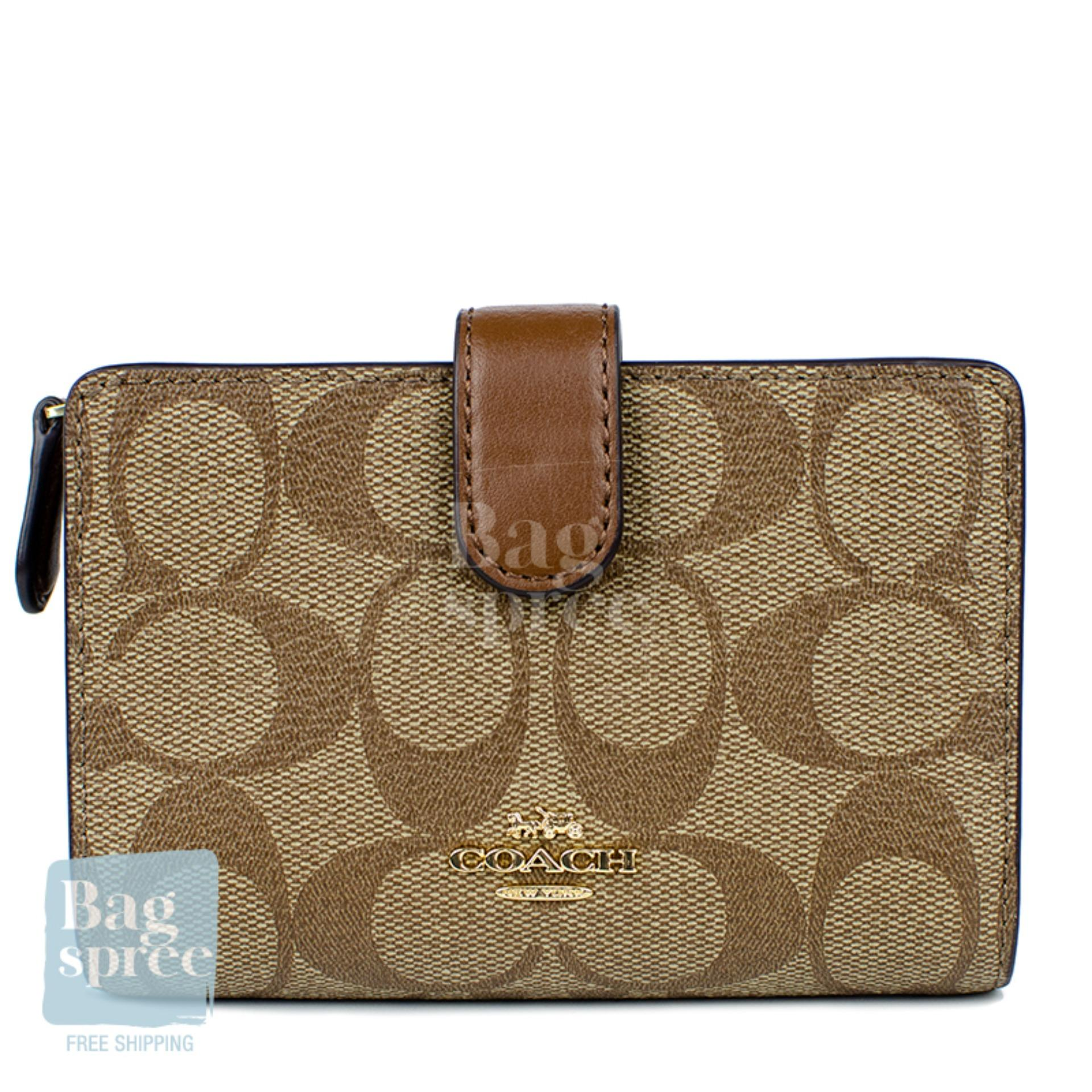119a5836 *Authentic & Brand New* Coach Medium Corner Zip Wallet F11484 F23553 [Gift  Receipt Provided] [OL]