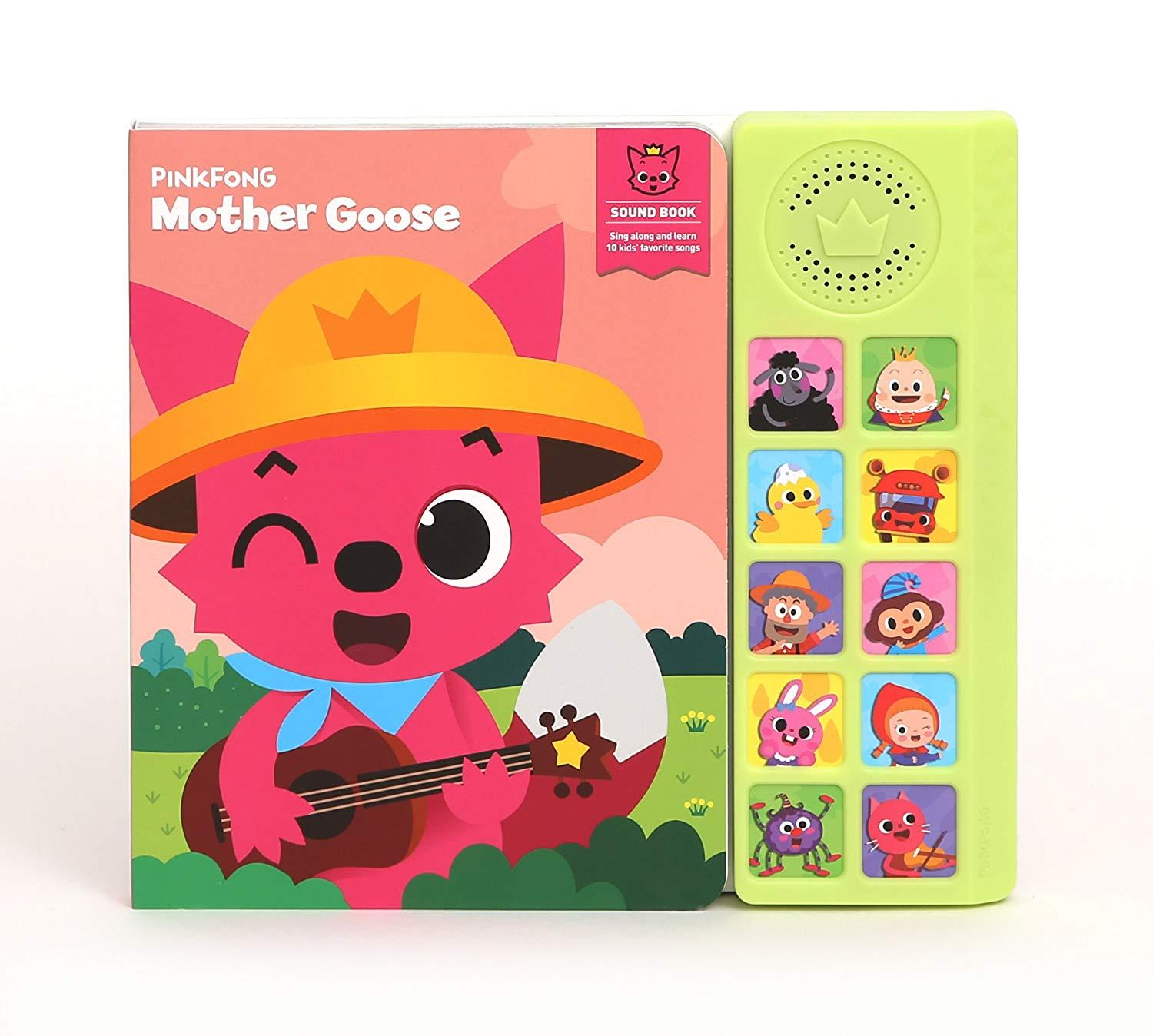 Pinkfong - Pinkfong Soundbook - Mother Goose By Pinkfong.