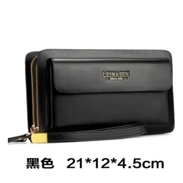 Brand New Style Business Mens Handbag Korean Style Clutch Large Capacity Business Wallet Clutch Bag Male