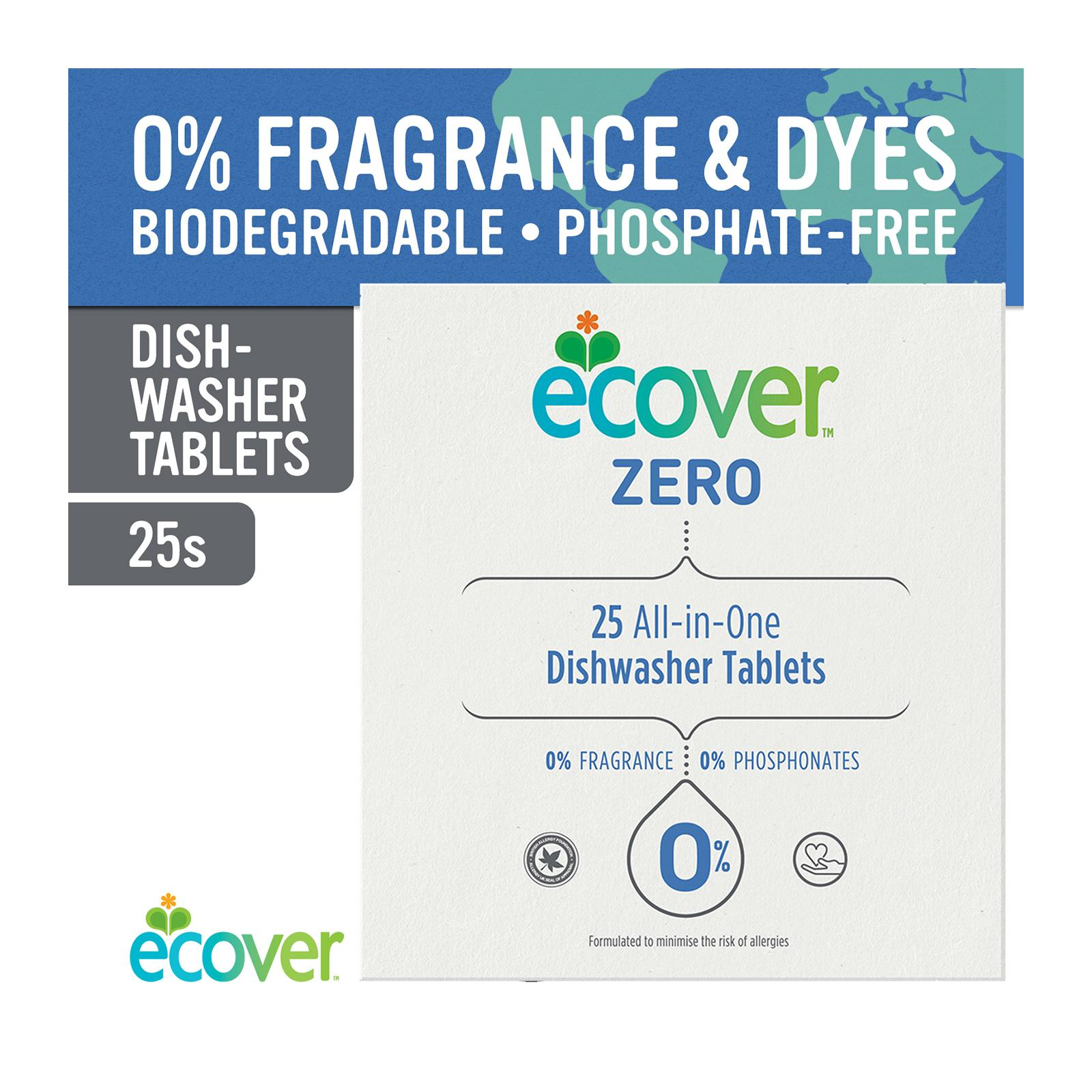 Ecover Zero Dishwasher Tablets 25S - By Corlison