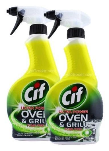 Cif Ultra Power Oven & Grill Fume Free 500ml (2pcs) By Pd Tech.