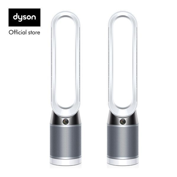 Dyson Pure Cool™ TP04 Air Purifier Tower Fan White Silver [Twin Bundle] Singapore