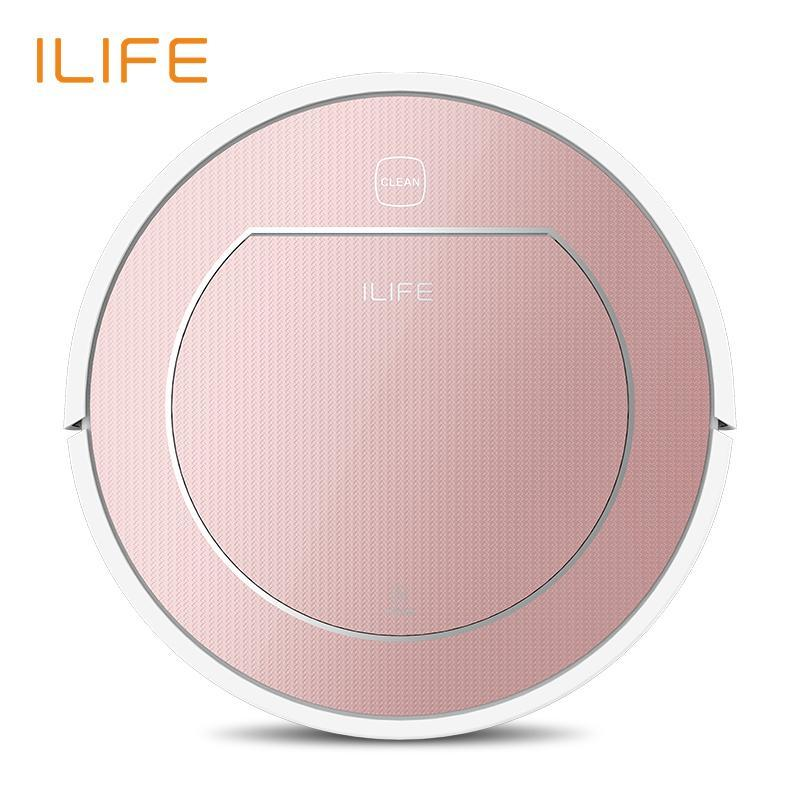 ILIFE V7s Plus Robot Vacuum Cleaner Sweep&Wet Mop Simultaneously with Roller Brush for Hard Floor Singapore
