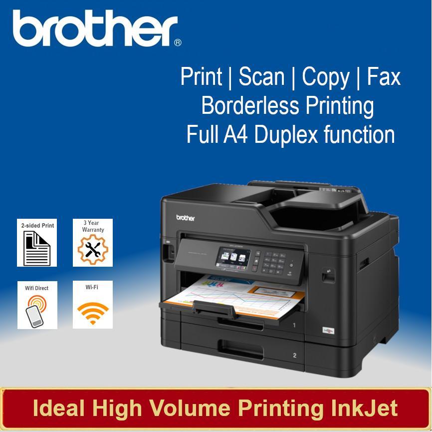 [Local Warranty] Brother MFC-J2730DW InkBenefit Multi-function Business  Inkjet Colour Printer MFCJ2730DW MFC J2730DW J2730 DW Singapore