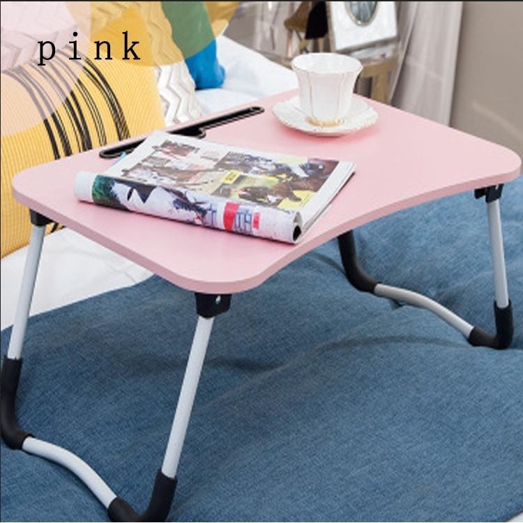 Foldable Laptop Table Desk Portable Bed Multi-purpose