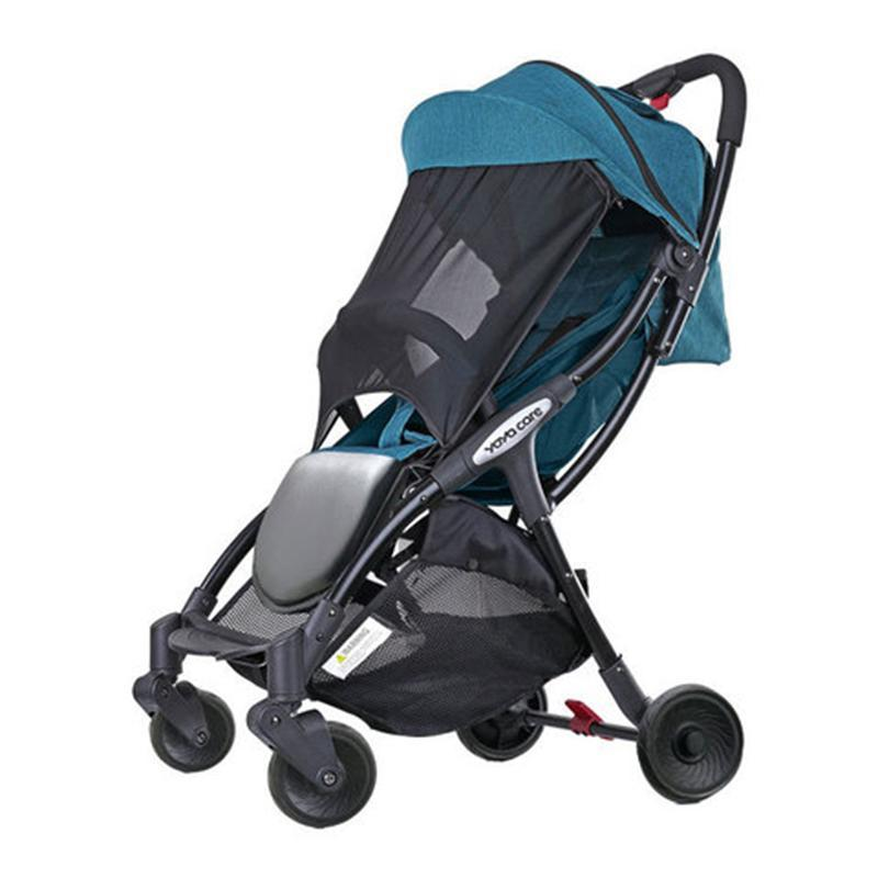 YOYA CARE Automatic Quick Folding Cabin Size Lightweight Lite Baby Stroller Visible Skylight Pram with Anti-mosquito Mesh UV Protection Singapore
