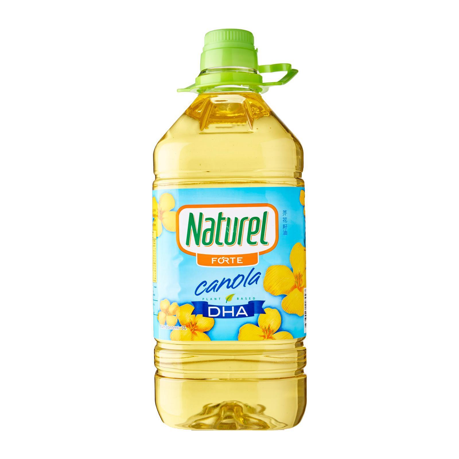 Naturel Dha Canola 3 Liter Oil By Redmart.