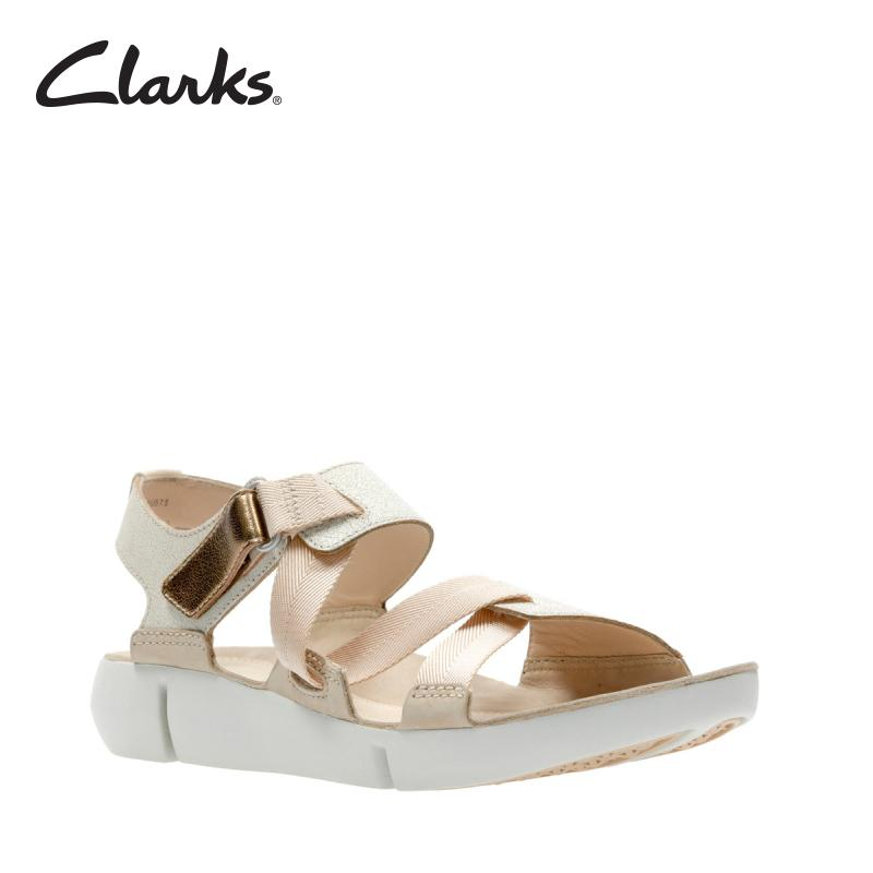 12b783e72ef2 CLARKS Tri Clover Sand Combi Womens Casual Sandals Retail Sort 2
