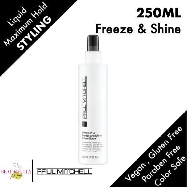 Buy Paul Mitchell Firm Style Freeze and Shine Super Spray 250ml - Maximum Firm Hold • Finishing Spray • Provides Powerful Hold and Memory • Creates Shiny Finish - 100% Genuine Authentic Singapore