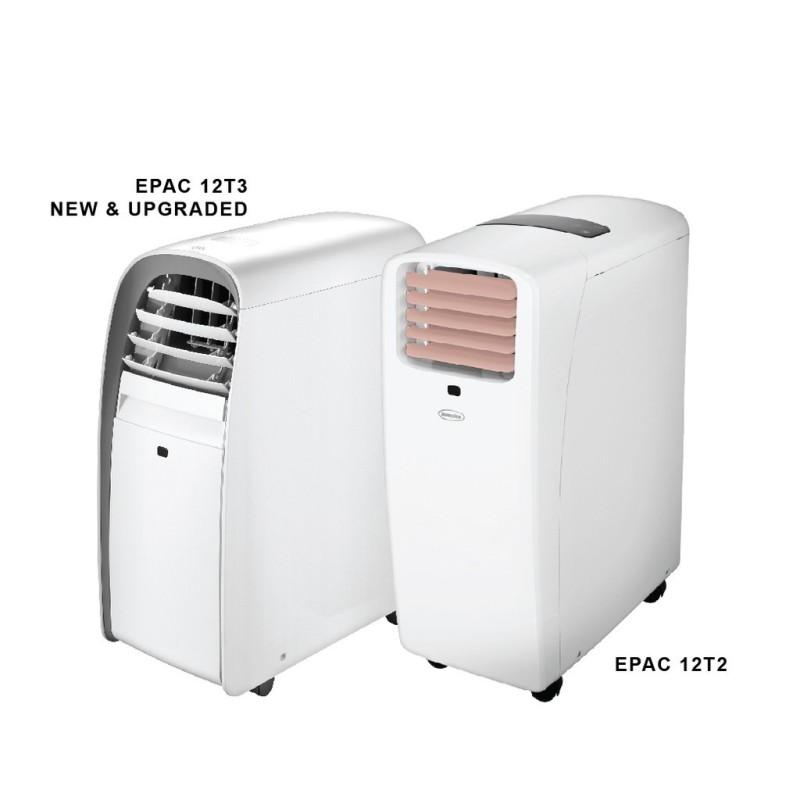 EuropAce 3-In-1 12K BTU Portable Aircon / Fan / Dehumidifier EPAC 12T3 Singapore