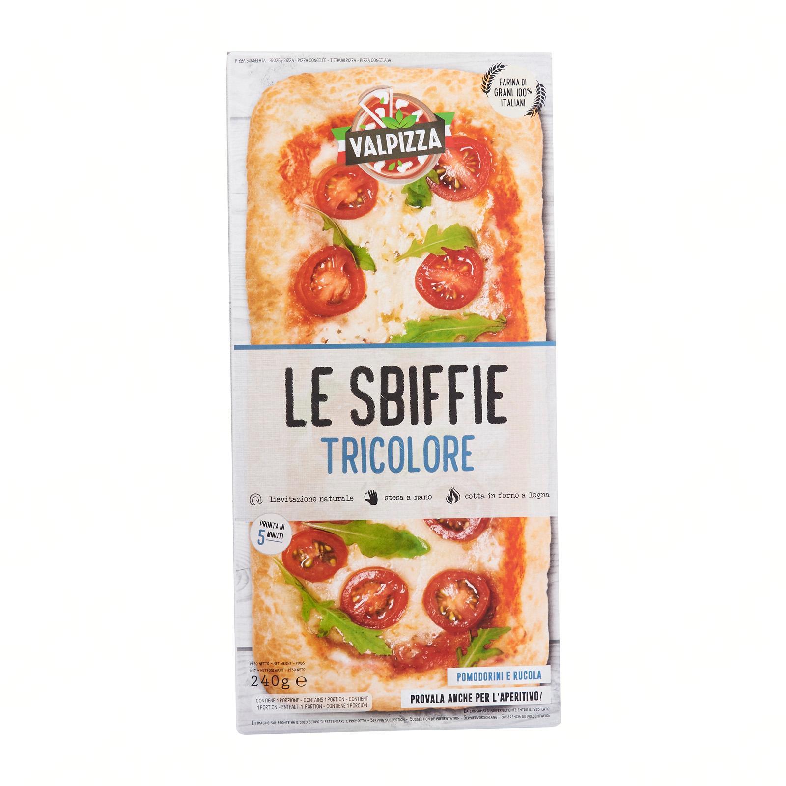 HeimatSterne Sbiffie-Valpizza Tricolore Cherry Tomatoes and Arugula Pizza - Frozen