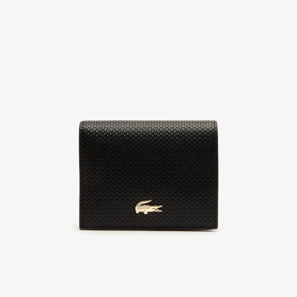 Womens Chantaco Small Piqué Leather Snap Wallet-NF2960CE