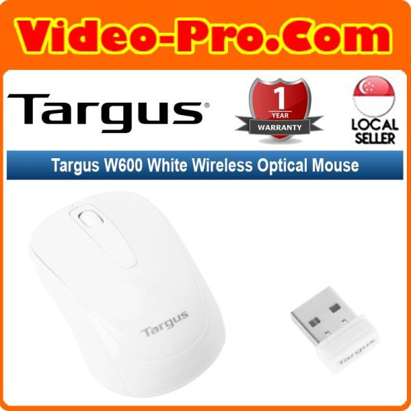 Targus W600 Black/White/Red/Blue Wireless Optical Mouse AMW600MY 1-Year Warranty