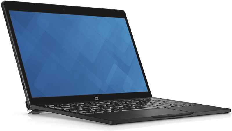 Dell Latitude 7275 Tablet /Laptop FHD (1920x1080) 2-in-1 12.5 Inch (Intel  M5-6Y57, 8GB Ram, 256GB Solid State SSD, Dual Camera, Type C Port, WIFI) Win 10