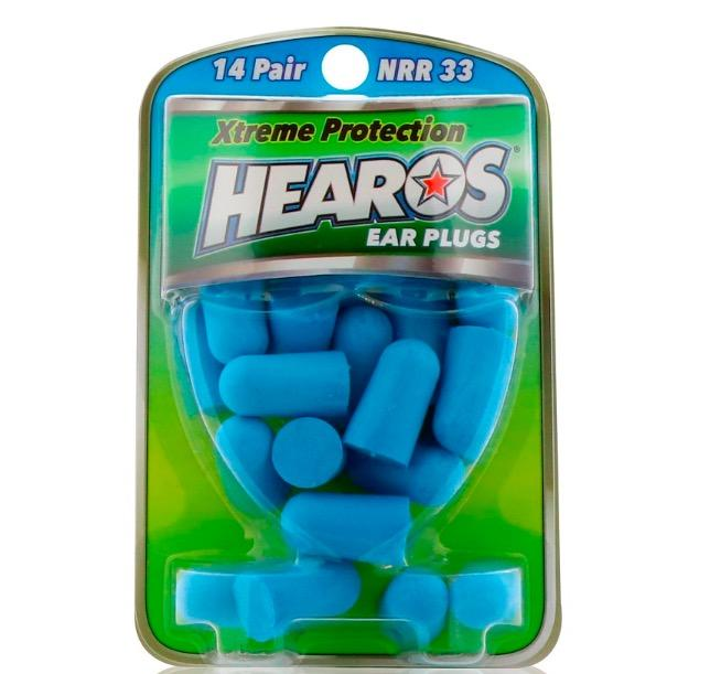 [SG] 14 pairs - Blue Hearos Ear Plugs Xtreme Protection 14 Pairs - Earplugs