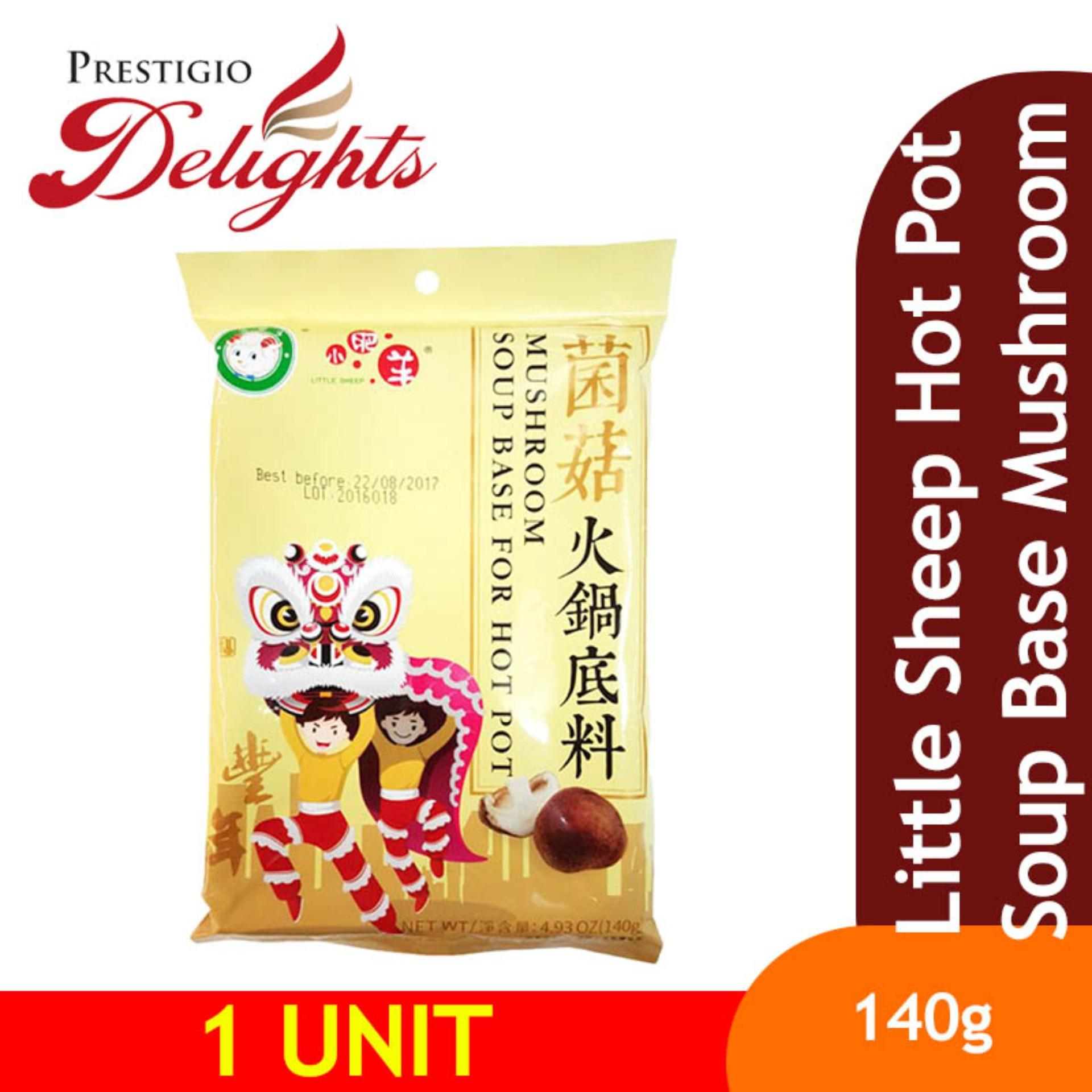Little Sheep Hot Pot Soup Base Mushroom 140g By Prestigio Delights.