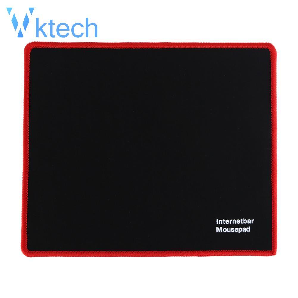 [Vktech] Gaming Mouse Mice Pad 25x21cm Lock Edge Rubber Speed Mouse Mat for PC Laptop