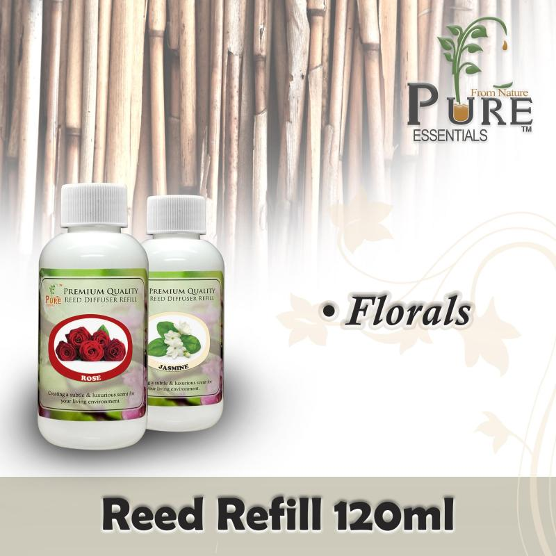 Buy Pure™ Reed Refill 120ML ● For Reed Sticks Diffuser ● FLORALS Singapore