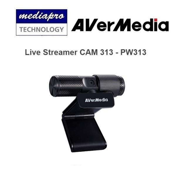 AVERMEDIA PW313 Live Streamer CAM 313 - 1 Year Local Distributor Warranty