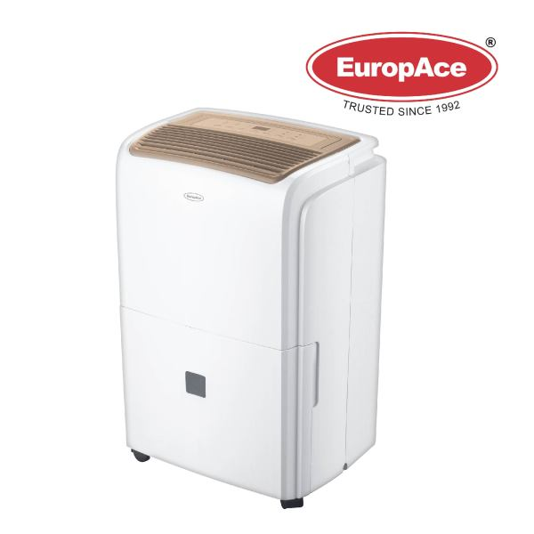 EuropAce 3-IN-1 UP TO 60MSG ROSE GOLD Dehumidifier - EDH 6601S Singapore