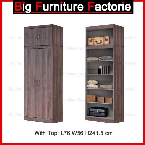 BFF-A4A Two Door Wardrobe with Top