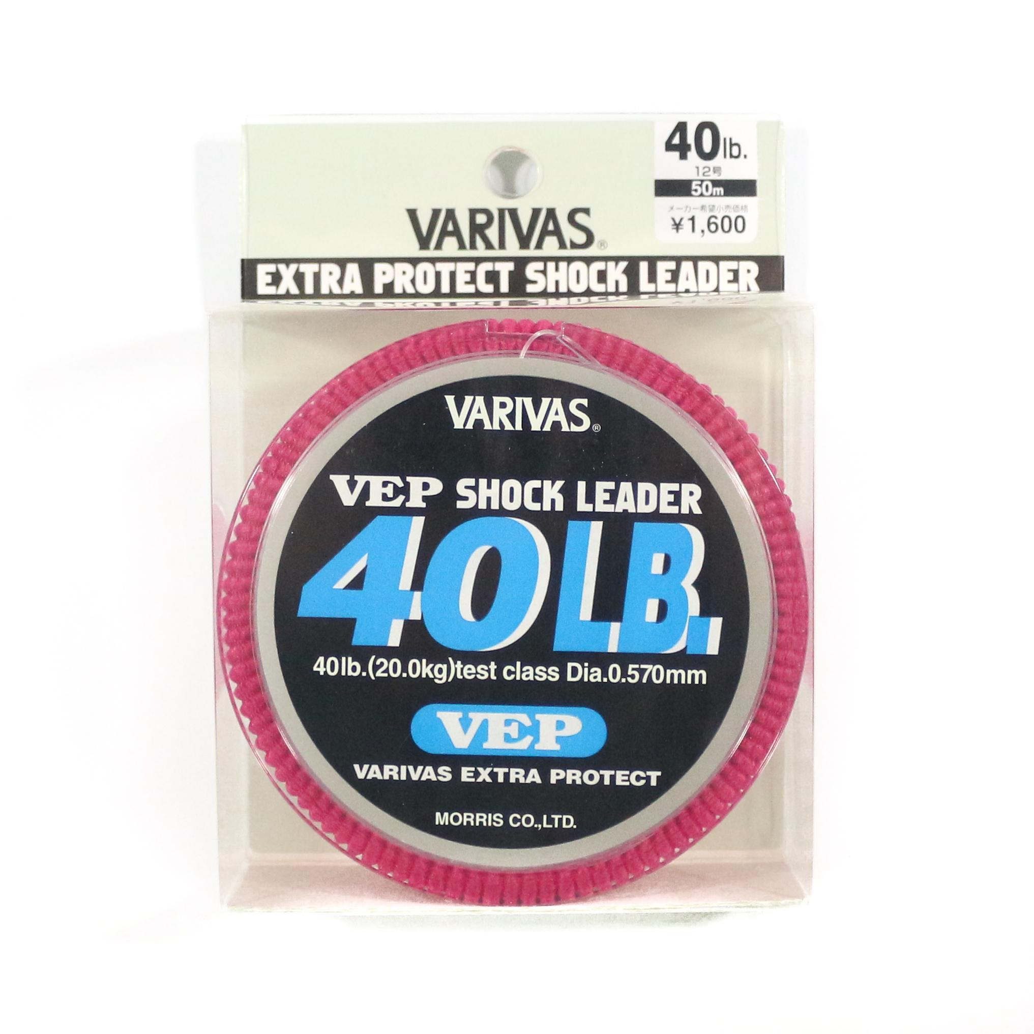 4817 Nylon Shock Leader Line 50m 170lb Varivas