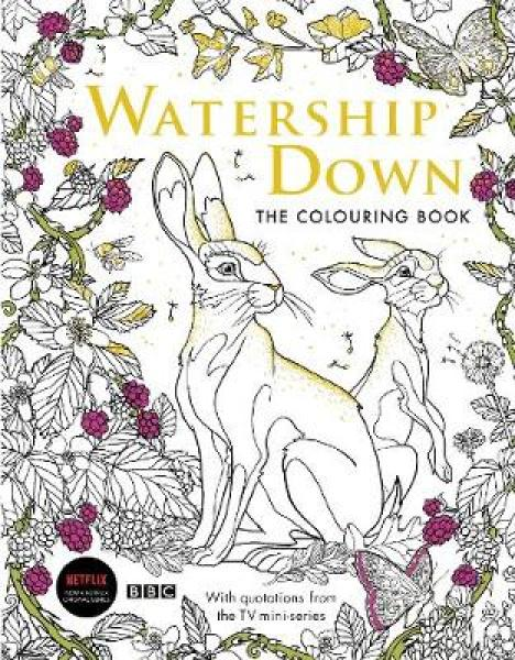 Watership Down: The Colouring Book PB (9781509899777)