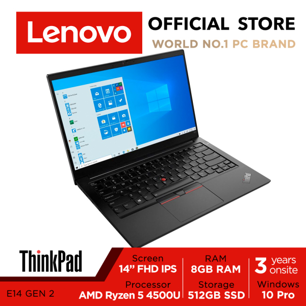 ThinkPad E14 Gen2 20T6S0CB00 | 14inch FHD IPS | Ryzen 5 4500U | 8GB RAM | 512GB SSD | W