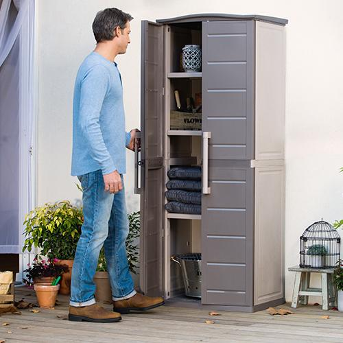 Keter Boston Outdoor Tall Cabinet