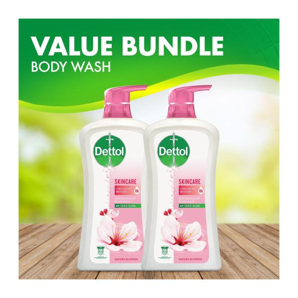 Buy Dettol Anti-Bacterial Shower Gel Skincare 950ML - Bundle Of 2 Singapore