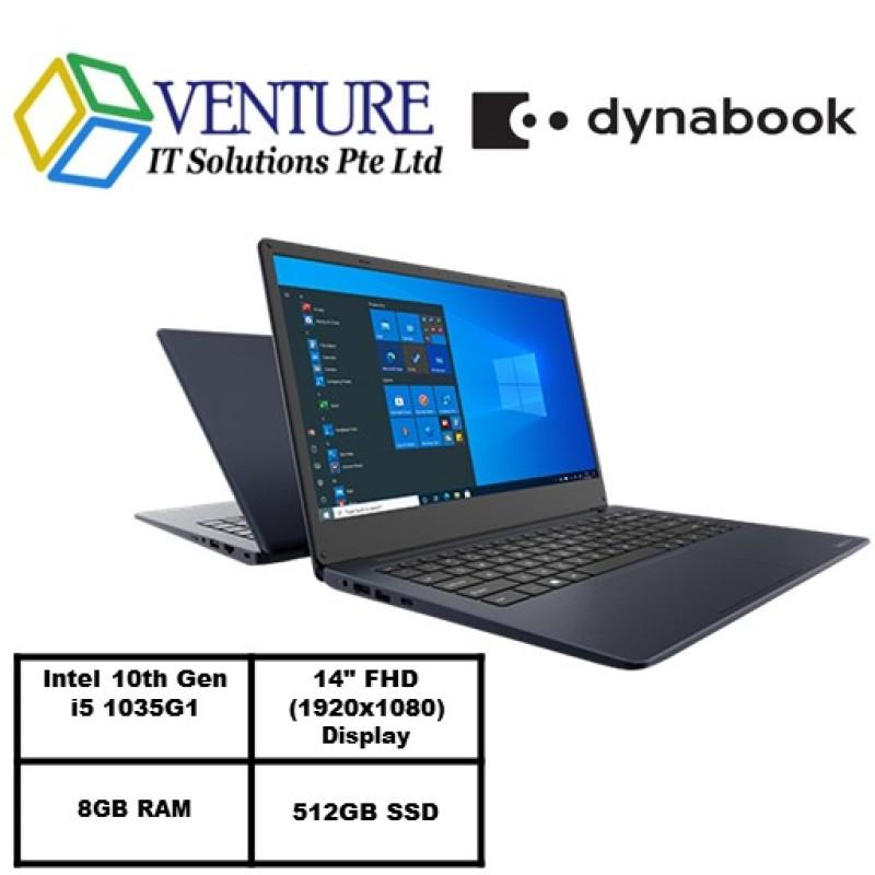 Dynabook Satellite Pro C40-Intel® Core™ i5-1035G1/Win 10 Home/8GB RAM/512GB SSD/14.0 FHD 1920 x 1080/1 Yr Warranty