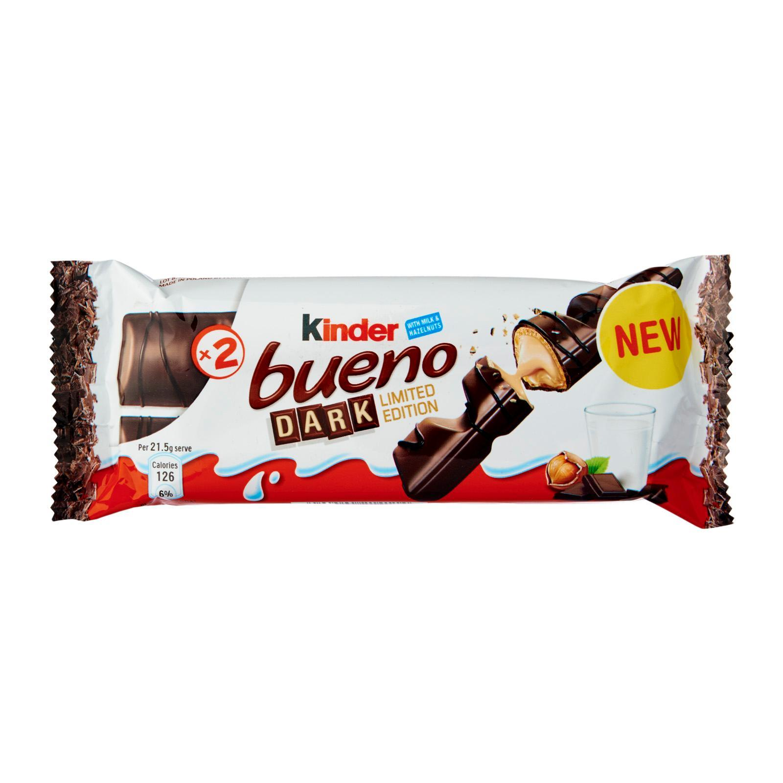 Kinder Bueno Dark Chocolate Wafer