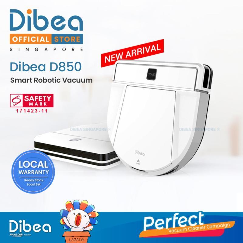 [LOCAL SELLER] DIBEA D850 Smart Robotic Vacuum Cleaner New Arrival 2019 Singapore