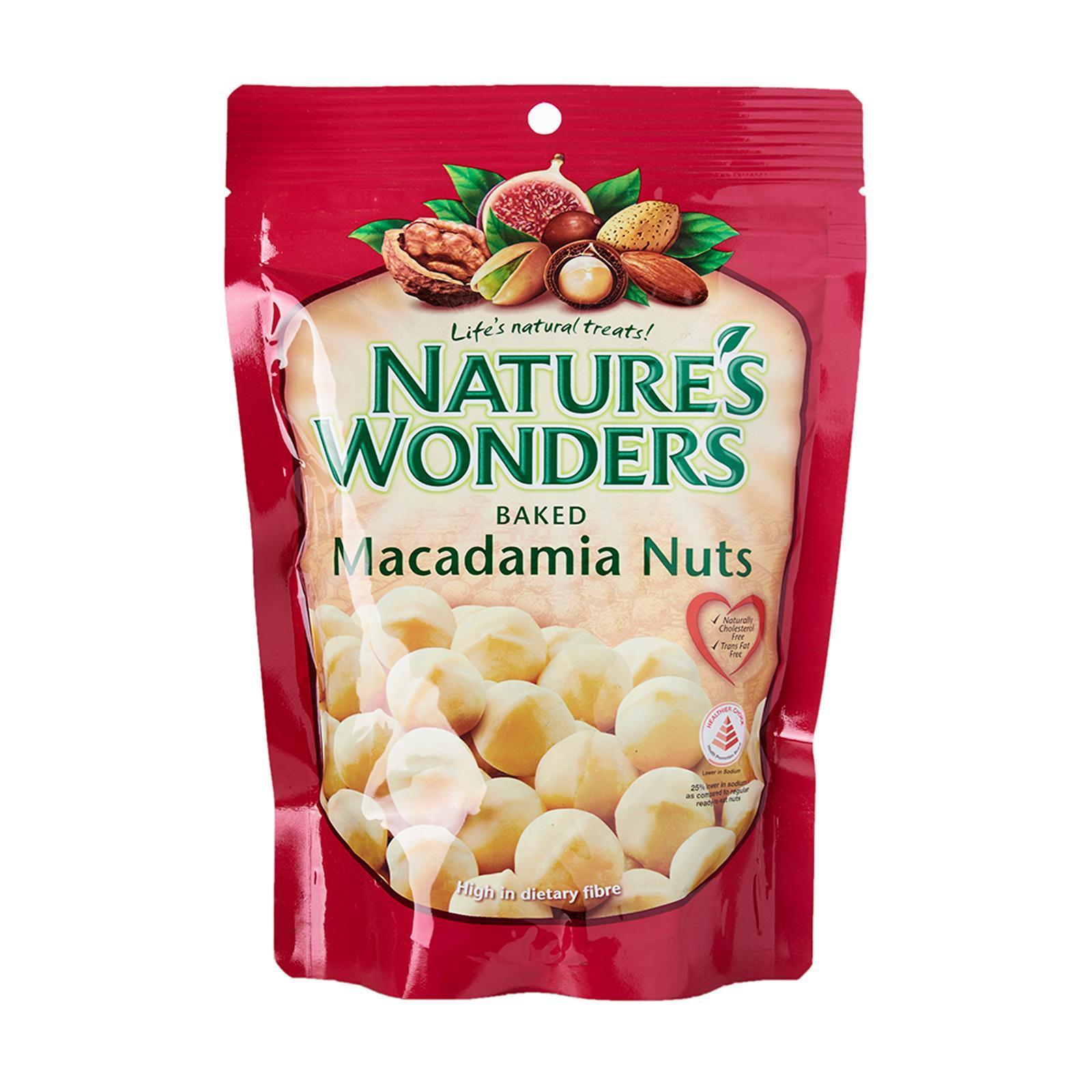 NATURE'S WONDERS Baked Macadamia 220g