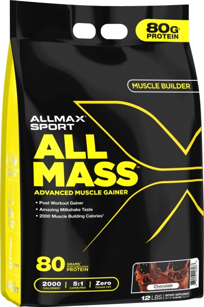 Buy AllMax AllMass Muscle Weight Gainer 12 lbs Singapore