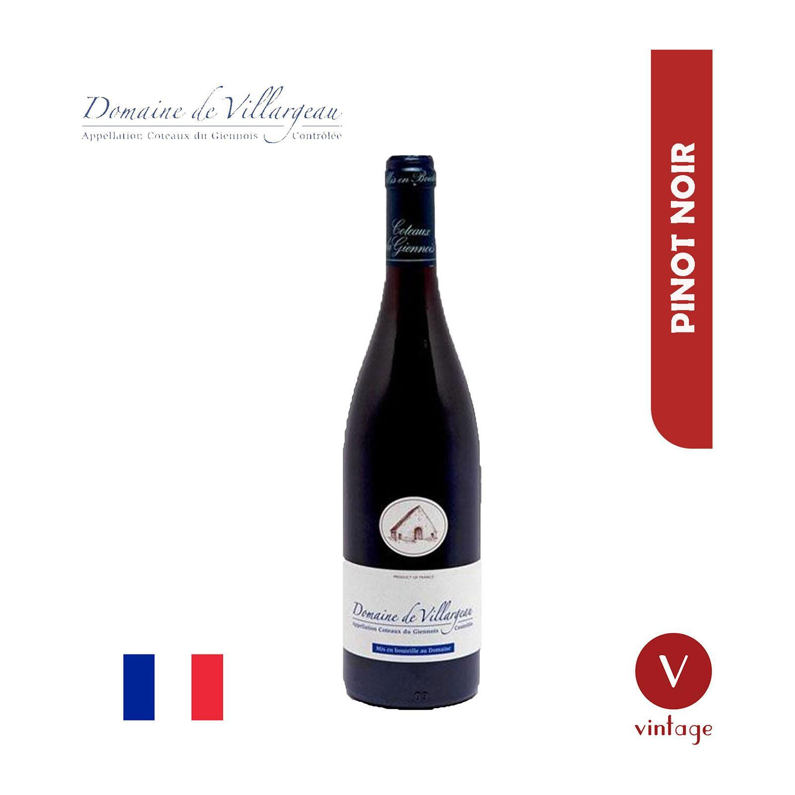 Domaine De Villargeau - Pinot Noir - By The Vintage Wine Club
